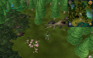 Scan clue Tirannwn north of mushroom patch.png