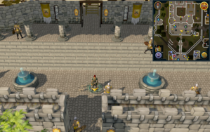Scan clue Varrock in Varrock Palace courtyard.png