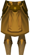 Golden warpriest of Saradomin greaves detail.png