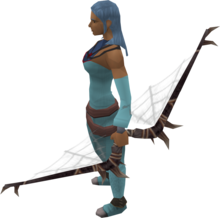 Noxious longbow equipped.png: Noxious longbow equipped by a player