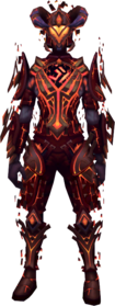 Warped gorajan trailblazer outfit equipped.png: Warped gorajan trailblazer legs equipped by a player