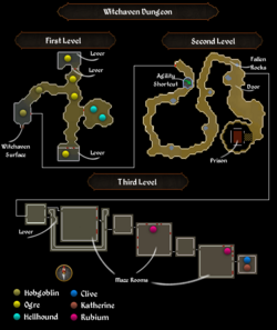 Witchaven Dungeon map.png