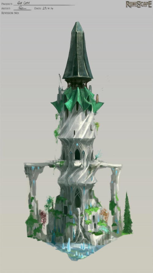 Elf City - Tower of Voices concept art.png