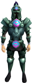 Adamant armour (h1) (heavy) equipped (male).png: Adamant platelegs (h1) equipped by a player
