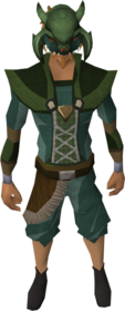 Mask of the Kura equipped.png: Mask of the Kura equipped by a player
