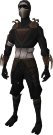 Death Lotus Disciple outfit (white) equipped.png: Death Lotus Disciple boots equipped by a player