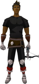 Off-hand ascension crossbow (Third Age) equipped.png: Augmented off-hand ascension crossbow (Third Age) equipped by a player