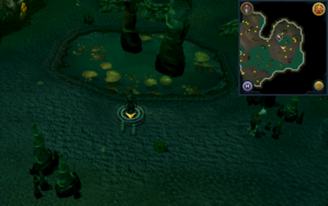 Scan clue Lumbridge Swamp Caves south of east Fishing spot.png