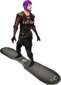 Snowboard (tier 2) equipped.png: Snowboard (tier 2) equipped by a player