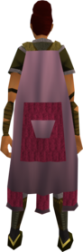 Team-1 cape equipped (female).png: Team-1 cape equipped by a player