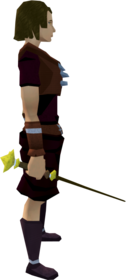 Master wand equipped.png: Master wand equipped by a player