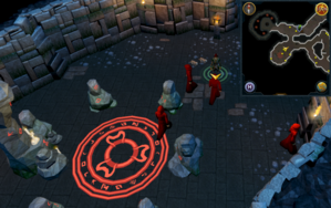 Scan clue Taverley Dungeon in monk of Zamorak chamber.png