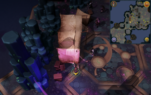 Scan clue Heart of Gielinor just south of tents north-east of first threshold to Vindicta.png