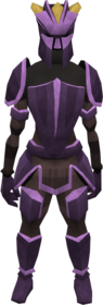 Novite armour (heavy) equipped (female).png: Novite boots equipped by a player