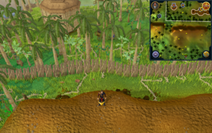 Scan clue Kharazi Jungle on ridge south-east of general store.png