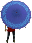 Dwellberry parasol equipped.png