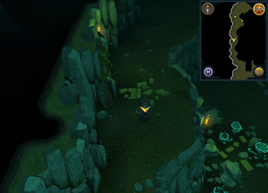 Scan clue Brimhaven Dungeon upper level centre of level.png