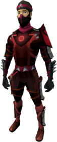 Death Lotus armour equipped.png: Death Lotus chaps equipped by a player