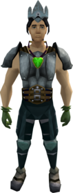 Medium task set equipped (male).png: Desert amulet 2 equipped by a player
