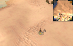 Scan clue Kharidian Desert just north of Nardah.png