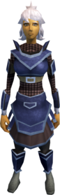 Katagon armour (light) equipped (female).png: Katagon chainbody equipped by a player