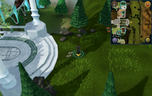 Scan clue Prifddinas at eastern entrance.png