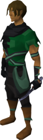 Mithril defender equipped.png: Mithril defender equipped by a player