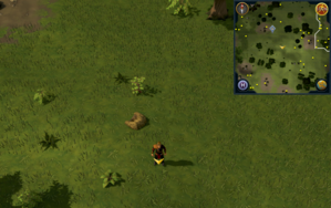 Scan clue Piscatoris Hunter area south-east of central Hunter training icon.png