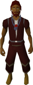 Amulet of fury equipped.png: Amulet of fury equipped by a player