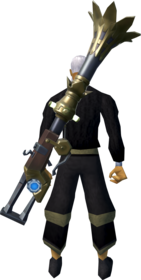 Enhanced fishing rod-o-matic equipped.png: Enhanced fishing rod-o-matic equipped by a player