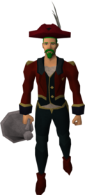 Ringmaster outfit equipped (male).png: Ringmaster shirt equipped by a player
