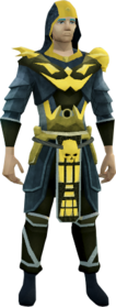 Superior Zuriel's armour equipped (male).png: Superior Zuriel's robe top equipped by a player