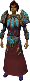 Augmented tectonic robe armour equipped.png: Augmented tectonic robe top equipped by a player