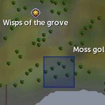 Mossy rock spawn location (Wisps of the Grove).png