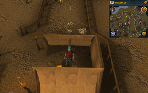 Emote clue Laugh Jokul's tent.png