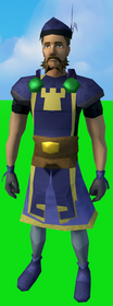 Serjeant outfit (skirt) equipped (male).png: Serjeant skirt equipped by a player