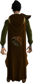 Dungeoneering cape equipped.png: Dungeoneering cape equipped by a player