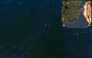 Compass clue Lumbridge north-east of south-east mine.png