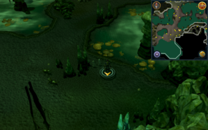 Scan clue Lumbridge Swamp Caves west of area with wall beasts.png