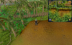 Scan clue Kharazi Jungle on ridge south of general store.png
