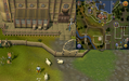 Tetracompass location Ardougne south of Fishing Guild.png