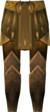 Golden warpriest of Armadyl greaves detail.png