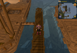 Emote clue Panic Fishing Trawler pier.png