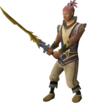 Golden katana equipped.png