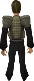 Rambler's backpack equipped.png: Rambler's backpack equipped by a player