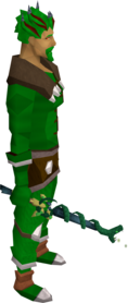 Serpentine wand equipped.png: Serpentine wand equipped by a player