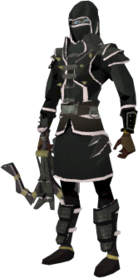 Lucky Karil's armour equipped (male).png: Lucky Karil's coif equipped by a player