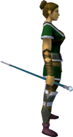Rune cane equipped.png: Rune cane equipped by a player