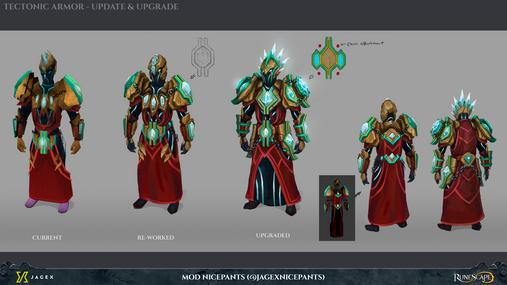 Tectonic Armour The Runescape Wiki