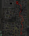 The Darkness of Hallowvale mine route map.png